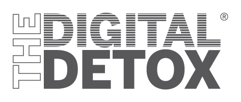 THE DIGITAL DETOX® | Logo zweizeilig